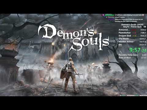 Demon's Souls Remake completato in 17 minuti