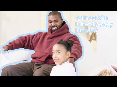 North West being a mini Kanye West (2)