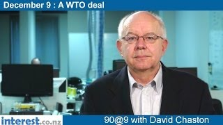 90 Seconds At 9 Am:a Wto Deal (news With David Chaston)