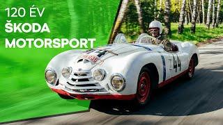 ŠKODA Motorsport 120 év: legendák