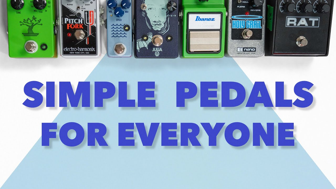 Simple Pedals Are Better DEAL WITH IT!