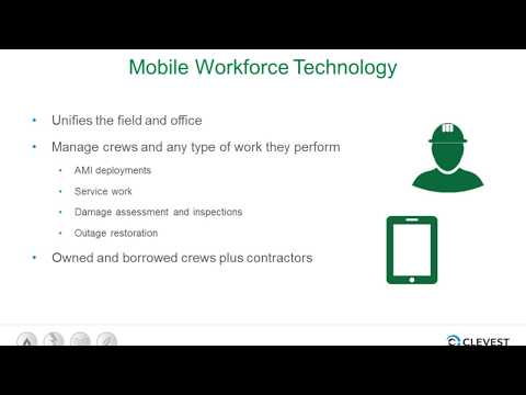 Mobile Workforce Management for Utilities Webinar