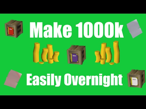 [OSRS] Make 1000k Overnight While Sleeping - Oldschool Runescape Money Making Method!