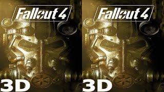 3D TV VR box video Fallout 4  Side by Side SBS google cardboard