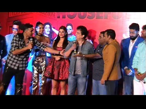 LIVE Hilarious Comedy By Akshay Kumar..Ritiesh..Boman..Jackie Shroff..at HOUSEFULL 3 Trailer Launch