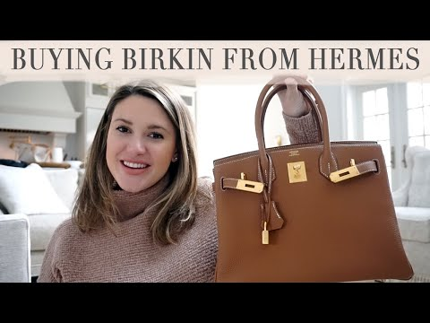 PURCHASING NEW A HERMES BIRKIN: HOW I BOUGHT IT FROM THE STORE,  PRICE, INITIAL THOUGHTS AND MORE!