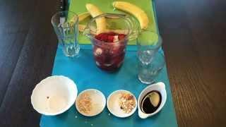 ✔СМУЗИ НАТА.  Как быстро приготовить банановый смузи для похудения/SMOOTHIE