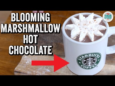 BLOOMING MARSHMALLOW HOT CHOCOLATE