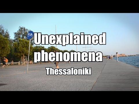 Unexplained human behavior-Seafront of Thessaloniki