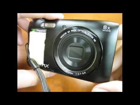 Nikon Coolpix S3600 розового цвета. Обзор и распаковка ...