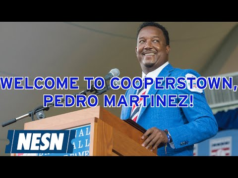 Pedro Martinez Inducted Into Baseball Hall Of Fame