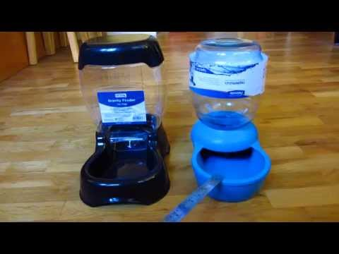 Petco / Petmate Gravity Feeder Part 1 - Review and Comparison