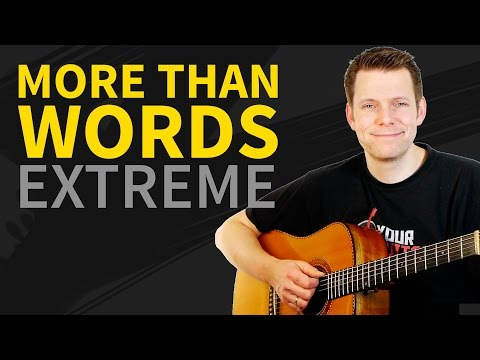 How To Play More Than Words Guitar Lesson & TAB -  Extreme