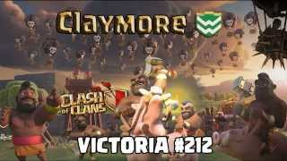 Claymore - Dread - Victoria #212 (Clash Of Clans)