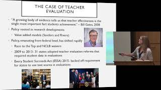 Sarah Reckhow: Examining the Federal Policy Debate on Teacher Evaluation
