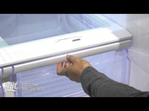 Samsung 25 Cu. Ft. Black Stainless Steel French Door Refrigerator RF263BEAESG/AA - Overview