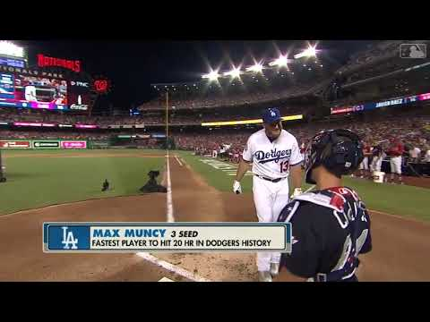 Max Muncy 17 HRs in 1st Round of MLB Home Run Derby