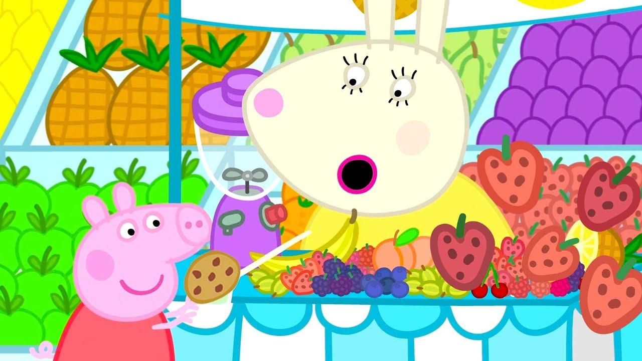 Peppa Pig en Español   El paseo divertido de Peppa   Pepa la cerdita