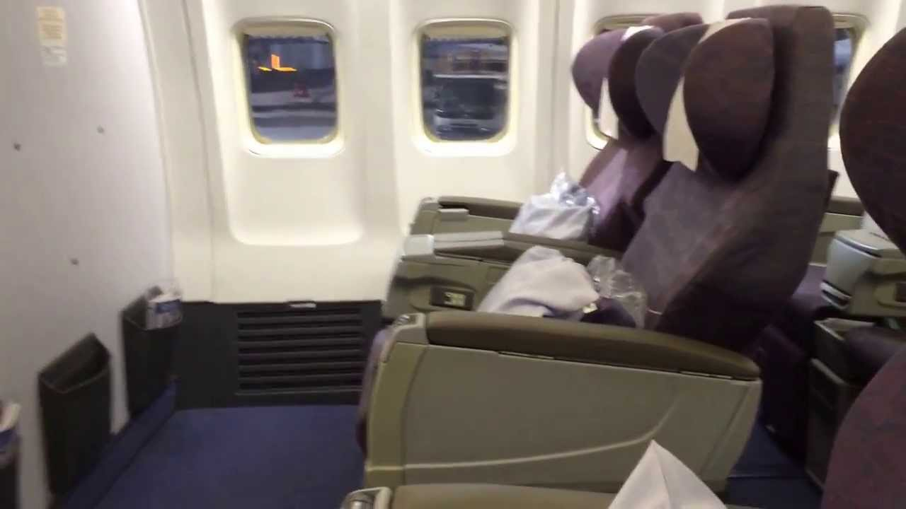 China Airlines Business Class B737 800 Youtube