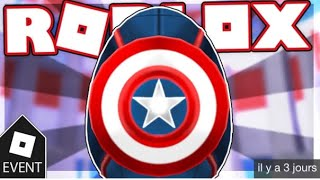 [EVENT] HOW TO GET CAPTAIN AMERICA EGG IN ROBLOX EGG HUNT 2019