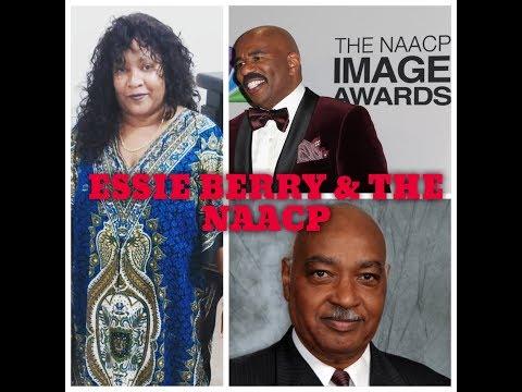 Essie Berry, Steve Harvey & The NAACP In Geneva's Closett