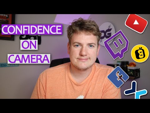 CONFIDENCE ON CAMERA: How To Be More CONFIDENT On Camera As A Small Content Creator