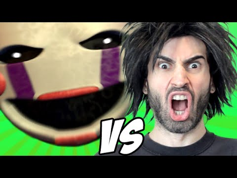 FIVE NIGHTS AT FREDDY'S 2 vs The World's Worst Gamer!