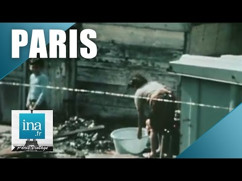 Des bidonvilles aux HLM à Paris | Archive INA