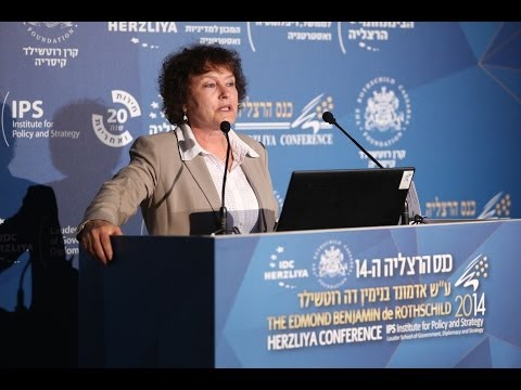 Dr. Karnit Flug, Governor of the Bank of Israel speaking at Herzliya Conference 2014