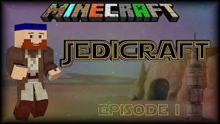 JediCraft: Episode 1 | Lancey Uses The Force | Minecraft
