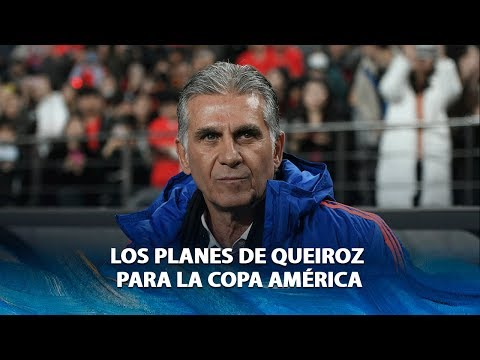 CARLOS QUEIROZ I Rueda de prensa con el director técnico de la Selección Colombia