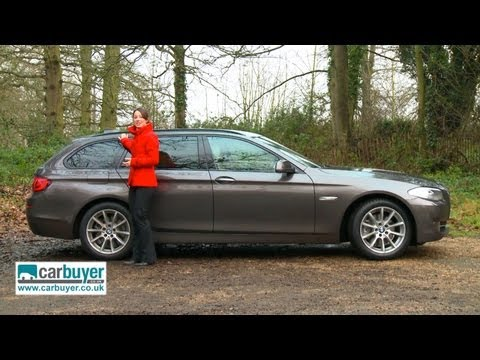 BMW 5 Series Touring estate review - CarBuyer