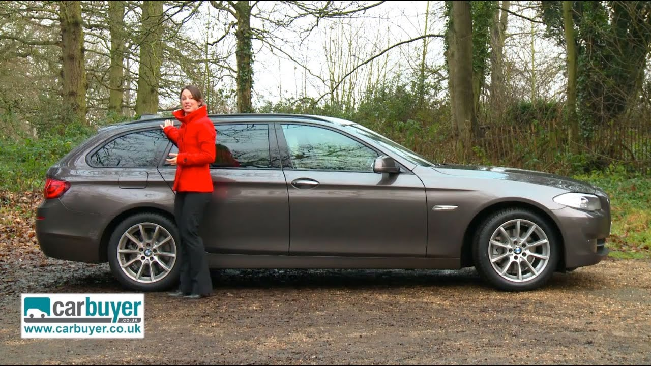 bmw 5 series touring estate review carbuyer youtube. Black Bedroom Furniture Sets. Home Design Ideas