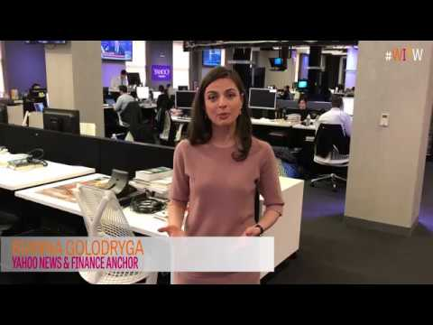 Bianna Golodryga is a voice for Women in the World - YouTube