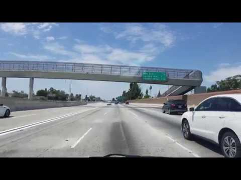 I-10 Freeway West to Los Angeles, California