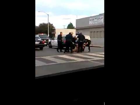 police brutality in  Carson, California