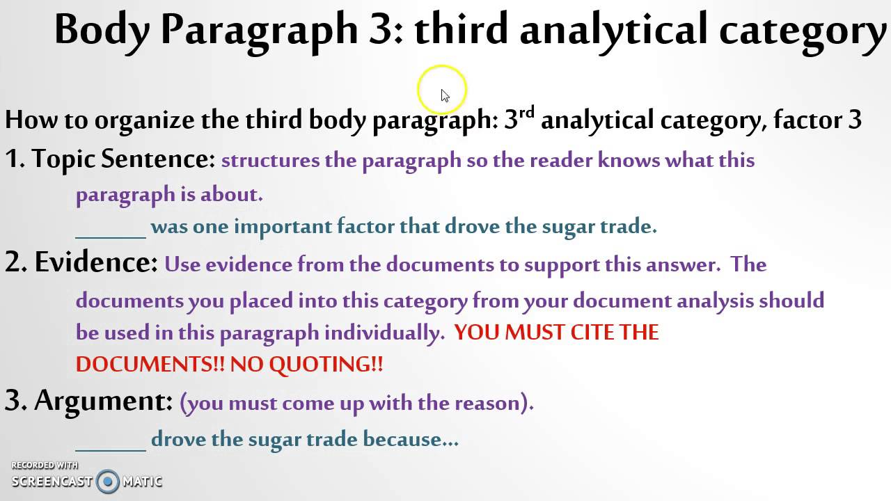 sugar trade dbq guided essay  sugar trade dbq guided essay