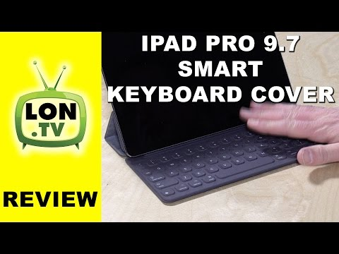 iPad Pro 9 7 Smart Keyboard Cover / Case Review - YouTube