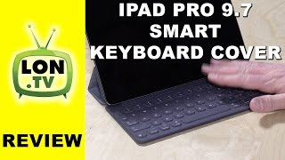 ipad pro 9 7 smart keyboard cover case review