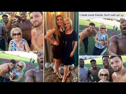 Thumbnail: Why This Mom Took Selfies With Shirtless Football Players in College