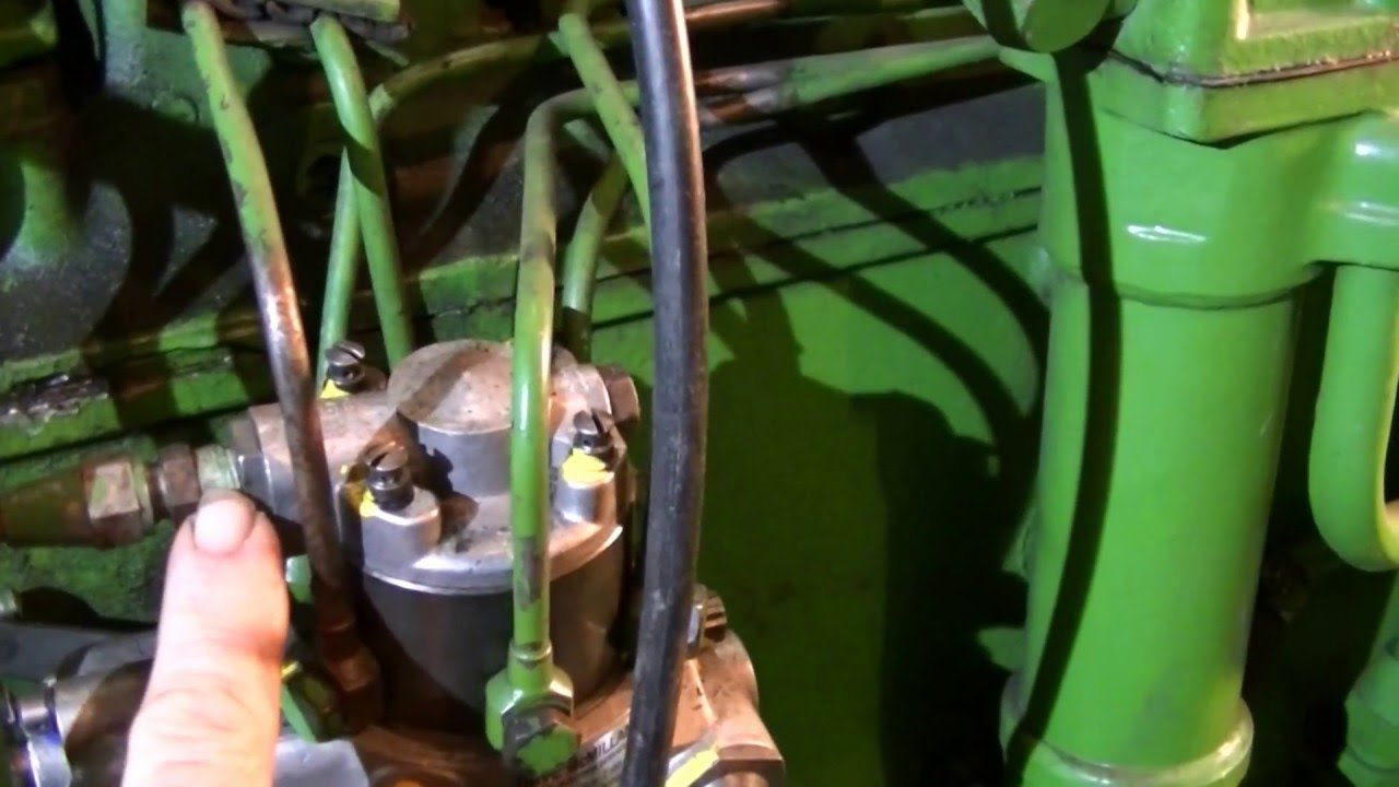 medium resolution of john deere 4020 diesel fuel system bleeding zeketheantiquefreak youtube