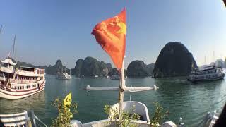 ベトナムのハノイ、ハロン湾での思い出動画に湘南乃風のSee you againの...