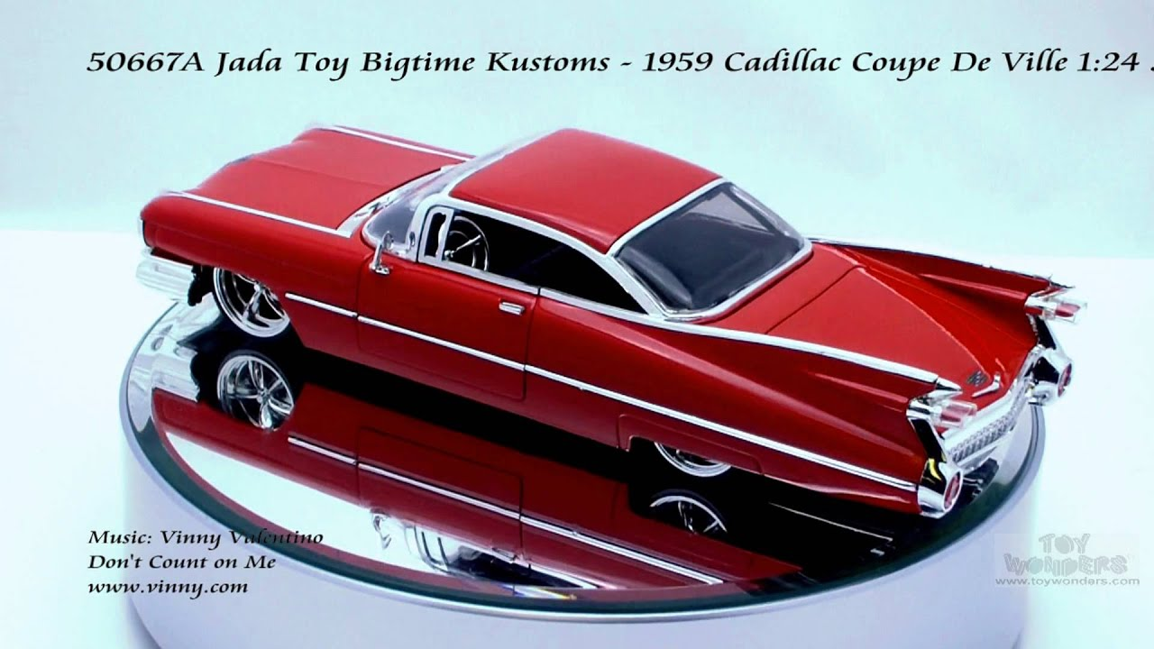 50667a Jada Toy Bigtime Kustoms 1959 Cadillac Coupe