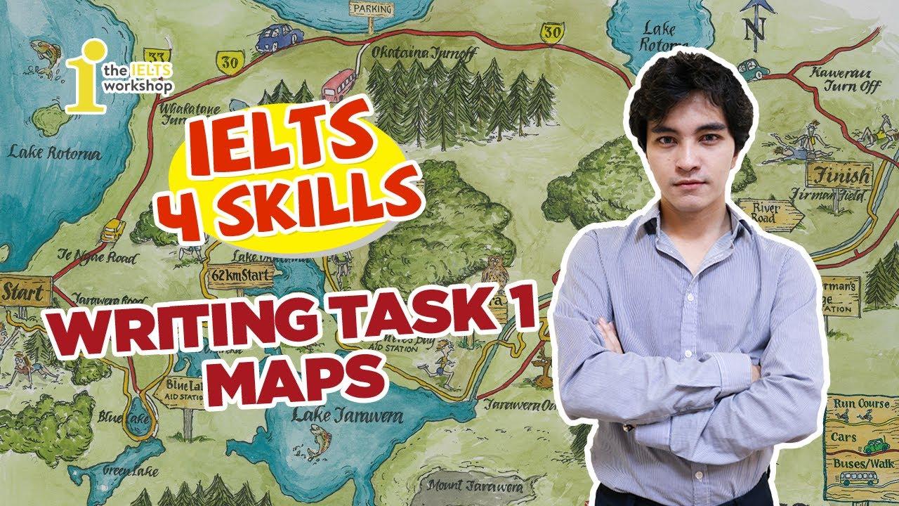[IELTS 4 Skills] Writing Task 1 | Maps