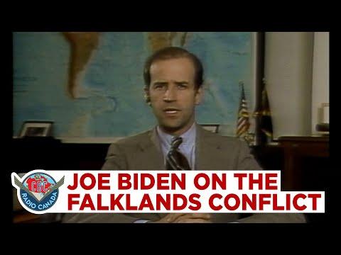 Joe Biden On The Falklands Conflict, 1982