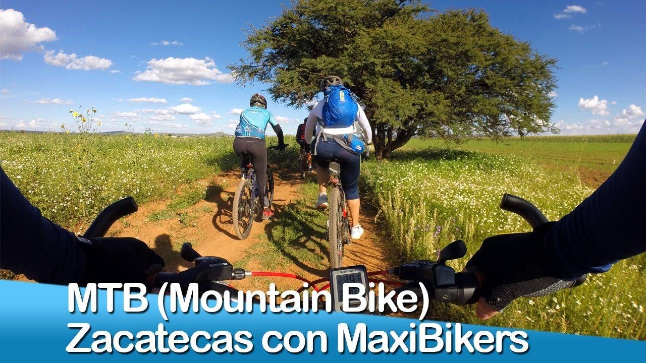 MTB (Mountain Bike) Zacatecas con MaxiBikers