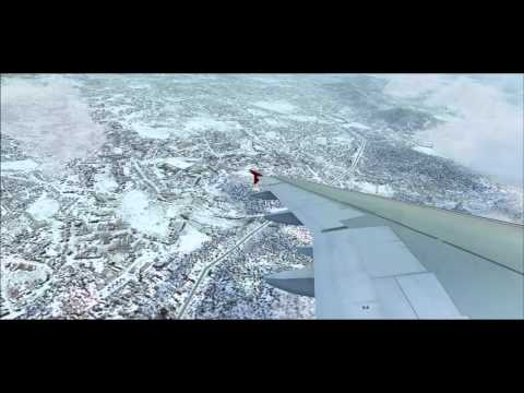 FS2004 - TURKISH AIRLINES Flight TK707 KABUL ISTANBUL HD