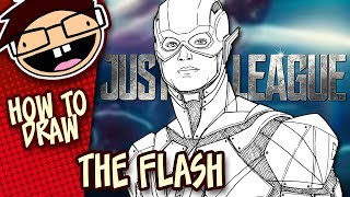 How to Draw THE FLASH (Justice League) | Narrated Easy Step-by-Step Tutorial