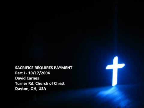 Sacrifice Requires Payment (pt. 1)