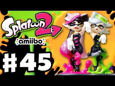 Splatoon 2 - Gameplay Walkthrough Part 45 - Callie and Marie Amiibos! (Nintendo Switch)